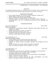 Medical Billing Resume Examples Custom Sample Resume Medical Claims Processor Combined With Sample Medical