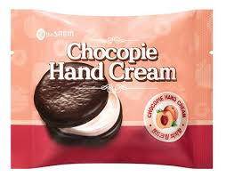 Купить <b>крем для рук Chocopie</b> Hand Cream Peach 35мл The Saem ...