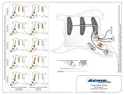 series wiring fender stratocaster guitar forum