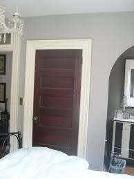 Stained Doors With White Trim Pilotprojectorg