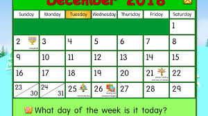 tuesday december 4 2018 daily calendar for kids starfall
