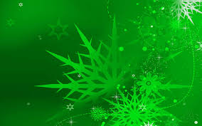 green christmas background clipart. Perfect Background Stars And Snowflakes Colorful Christmas Ornaments Throughout Green Background Clipart T