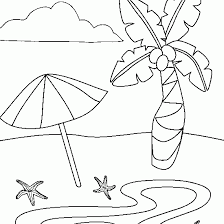 Small Picture Beach Umbrella Coloring Page Periodic Tables