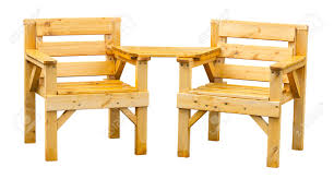 popular furniture wood. double patio seating made from pine a popular soft wood often used for garden furniture