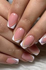A stylish variation of the french manicure: French Manicure Designs France Nails Design Love Nailart Designer Usa Pedicu French Manicure Nail Designs Square Acrylic Nails French Manicure Nails