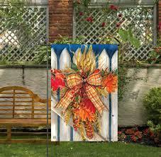 outdoor fall garden flags flags on a