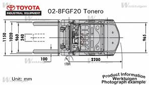 Toyota 02-8FGF20 - Toyota - Machinery Specifications - Machinery ...