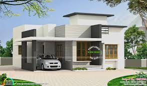 small modern house plans flat roof local worship design budget kerala home floor ture single simple plan architecture affordable contemporary designs latest
