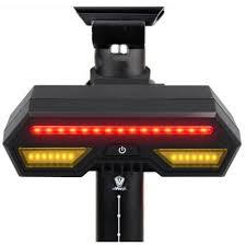 <b>Bicycle Bike</b> Rear <b>Tail Light</b> Laser LED Indicator <b>Turn</b> Signal ...
