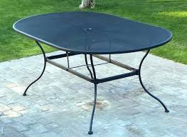 used patio table and chairs metal patio table dazzling ideas expanded metal patio furniture outdoor goods