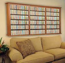 wall mount cd dvd rack 1026 cd 480 dvd