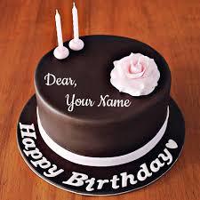 98 Happy Birthday Chocolate Cake With Name Editor Birthday