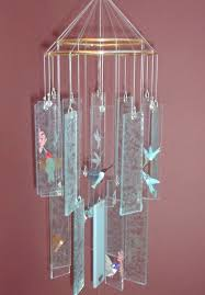 make chinese glass wind chimes designs