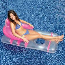 image of deluxe floating lounge chair