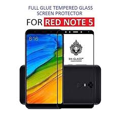 inclu premium hiqh quality redmi note 5 full glue edge to edge full coverd 5d tempered glass screen protector with free installation kit black