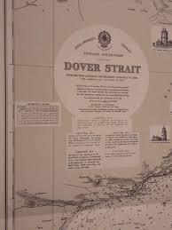 Dover Strait Chart Great Britain Dover Strait Dover Strait Hydrographic Office Of