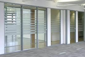 glass wall doors glass office divider sliding glass door wall cost