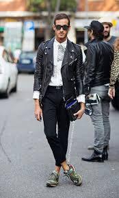 allsaints men leather biker jacket