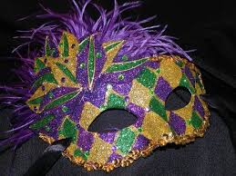Mardi Gras Masks To Decorate