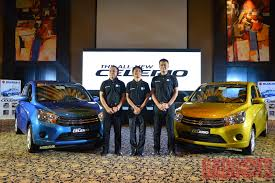 new car launches in philippinesSuzuki Philippines officially launches allnew Celerio with spec