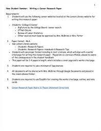career research paper on nursing