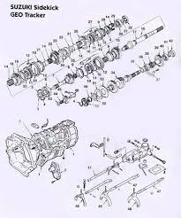 geo tracker suzuki sidekick manual transmission illustrated parts Allison Transmission Schematics Allison Transmission Schematics #80 allison transmission diagram