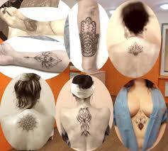 Tetování Na Stehno Hodiny