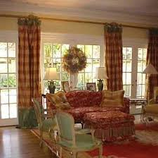 French Country Living Room Curtains