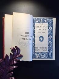 oscar wilde two volumes novels and fairy tales essays  oscar wilde two volumes novels and fairy tales