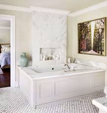 traditional master bathroom. Fine Traditional MarbleWrapped Master Bath On Traditional Bathroom R