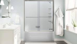 replacing ideas replace stall pan transform diy elderly base walk stand remodel bathtub shower inserts enclosure