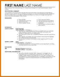 Entry Level Job Resume Templates 7 8 Examples Of Resumes For Entry Level Jobs