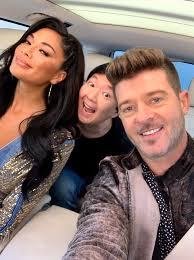 Carpool Karaoke - Unmask a new episode of #CarpoolKaraoke this Friday with  Nicole Scherzinger, Ken Jeong and Robin Thicke from The Masked Singer.   Watch it free on the Apple TV app!