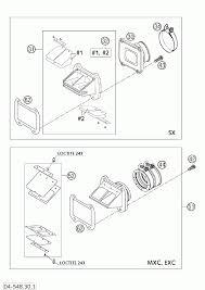 Reed valve case 250 300