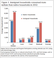 The Cost Of Welfare Use By Immigrant And Native Households