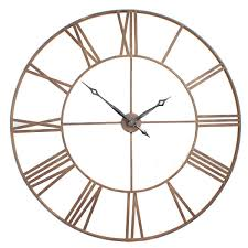 enthralling big round wall clocks