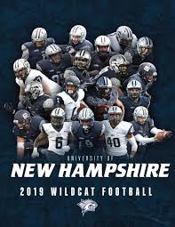 Unh Wildcat Stadium Seating Chart 2019 Unh Football Yearbook By University Of New Hampshire