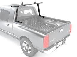 Universal Aluminum Truck Bed Ladder Rack Adjustable Single Bar ...