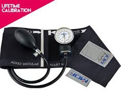 sphygmomanometer. mdf\u0026reg; calibra aneroid sphygmomanometer - lifetime calibration warranty blood pressure monitor with adult sized