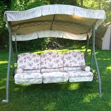 swings canopy love seat patio swing costco