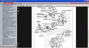 TOYOTA AVENSIS T25 2003 - 2008 SERVICE & REPAIR INFORMATION MANUAL