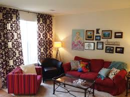 Living Room With Red Furniture Decorating A Living Room With A Red Couch Relaxing Pink Living