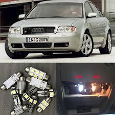 A6 Light Bulb 21x Canbus Auto White Led Light Bulb Interior Kit For 1998