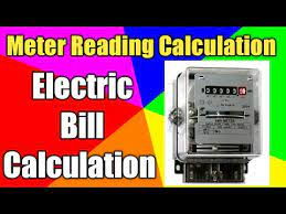 how to calculate electric bill from