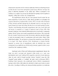 marginalization final essay therefore poverty and unemployment 10