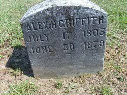 Alexander Hamilton Griffith (1805 - 1879) - Genealogy