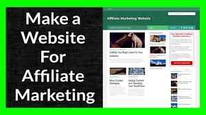 1 Make Of Affiliate Marketing 11 A - Website Youtube Part For