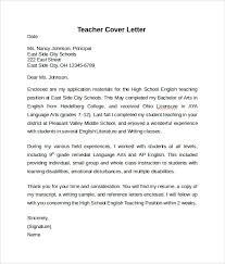 cover letter in english letter of recommendation for teaching position collection of