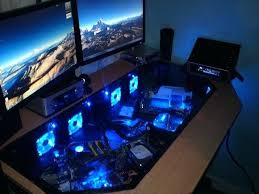 Custom gaming computer desk Gamer Pc Computer Desk Gaming Desk Different Types And Why It Is Worthy Computer Desk Ideas Gaming Bedavadinle Pc Computer Desk Bedavadinle