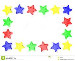 Star Framework Framework From Multi Coloured Stars Stock Image Image Of Star